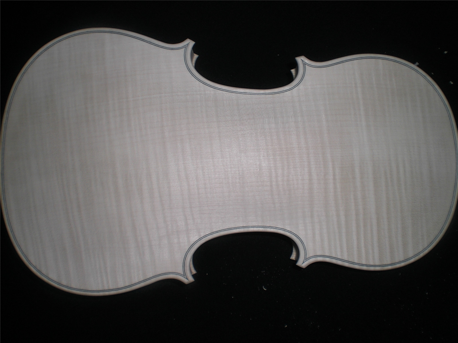 1 PC Professional White Violin with One Piece Maple Back Spruce Top European Wood 4/4 Quality Unfinished Violin Full Size 2016 lace appliques baby boys girls infant outfit heriloom dress dedication baptism gown long christening gowns with bonnet