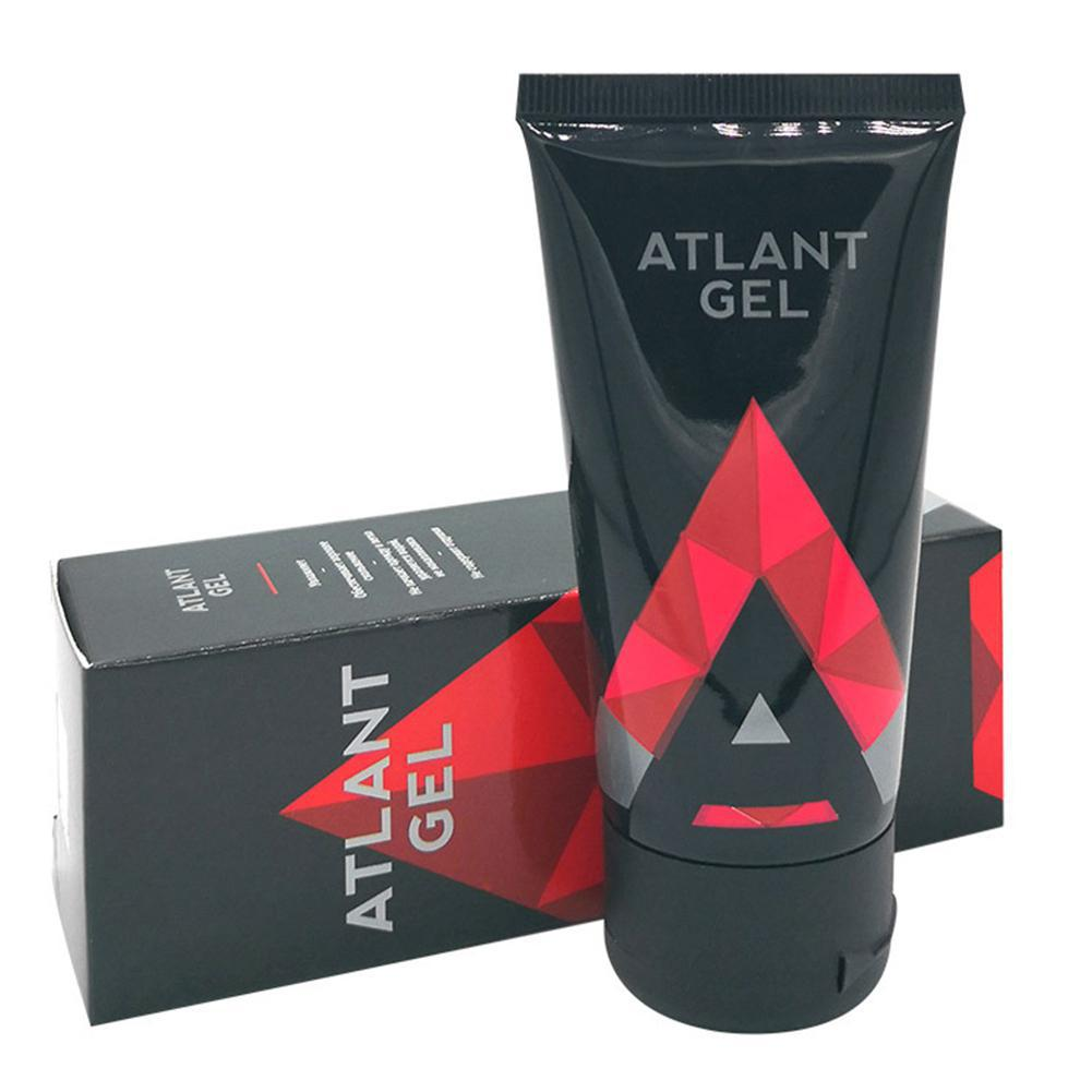 Atlant Gel Male Penis Active Enhanced Cream JELQ Massage Enlargement Extender Delay Time Exerciser 50ml/1.7fl.oz