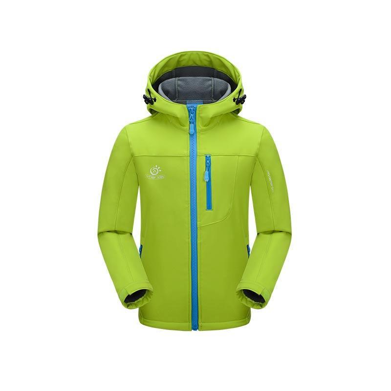 Dropshipping 120-150 cm 2015 New Children Boys Girls Outdoor Waterproof Hiking Jackets Thermal Coats kids softshell jacket new winter 3 in 1 kids hiking jackets children boys girls waterproof thermal two piece fleece coats hiking skiing jacket