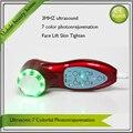 7 цвет режим из светодиодов светло-терапия ультразвуковой Photonrejuvenation инструмент красоты лица прибор бесплатная доставка