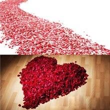 2000 Pcs Colorful Artificial Rose Petals Wedding Petalas Silk Flower Accessories