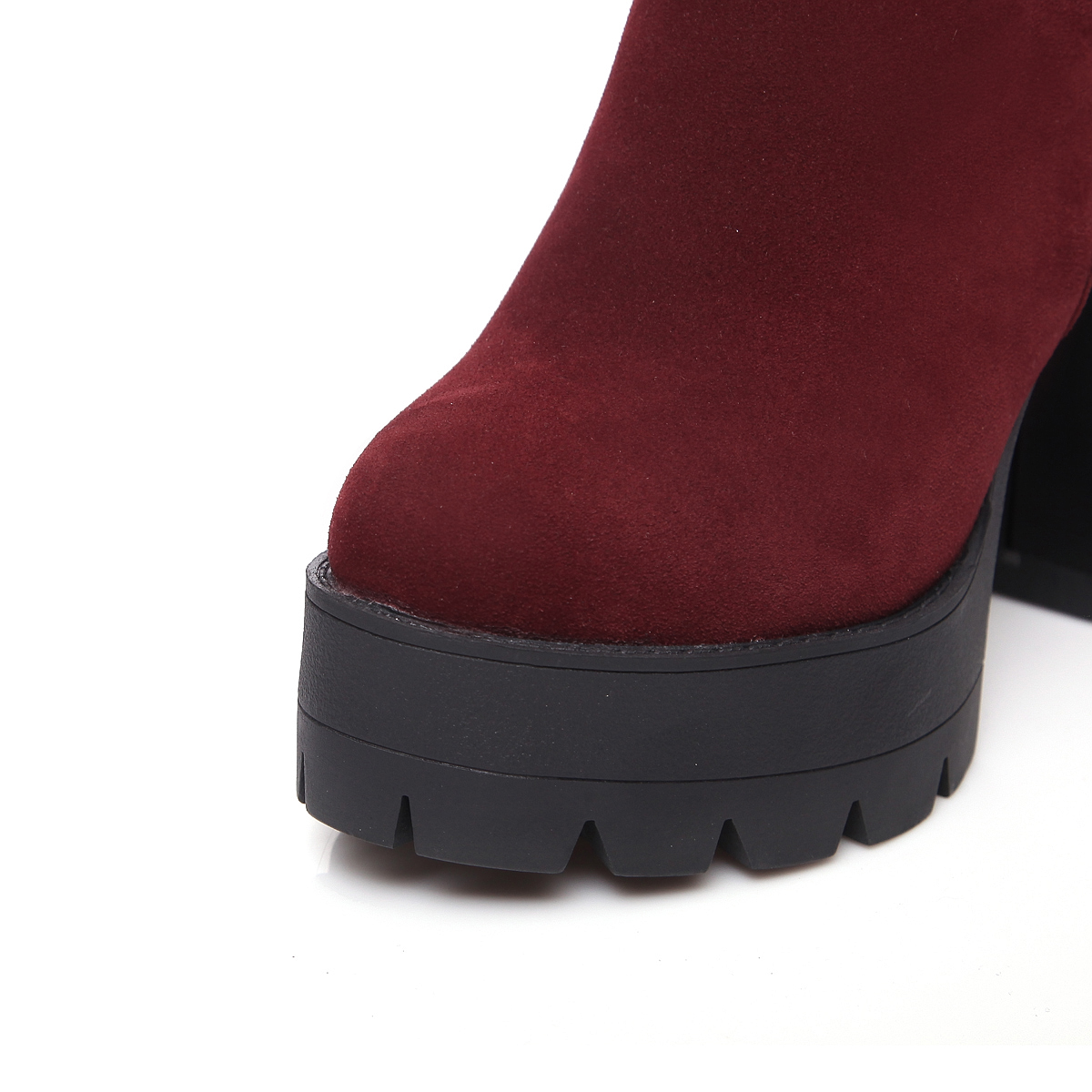 Partie Il Bottes 11 2019 Noir 5 Automne Et Vin De vin Haute Rouge Printemps Mode Cm Super Femmes Talon Chaussures Noir Cheville SVUqzMp