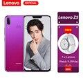 Lenovo Z5 6 gb 64 gb Snapdragon 636 Octa Noyau Mobile Téléphone 19:9 Plein Écran 6.2 ''Android 8.1 16MP + 8MP Double Arrière Caméra Smartphone