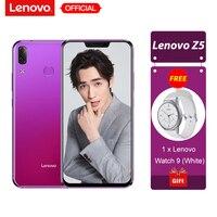 Lenovo Z5 6GB 64GB Snapdragon 636 Octa Core Mobile Phone 19:9 Full Screen 6.2'' Android 8.1 16MP+8MP Dual Rear Camera Smartphone