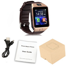 Wearable Devices DZ09 Smart Watch Support SIM TF Card Electronics Wrist Watch Connect Android Smartphone +16GB memory card