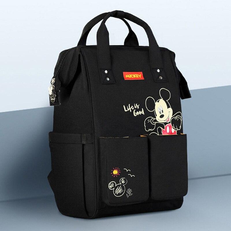 Disney Nappy sac à dos sac à langer USB chauffage maternité voyage sac à dos grande capacité sac d'allaitement bébé soin momie sac