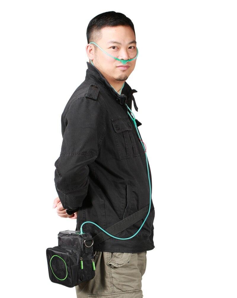 Здравоохранения DC12V Аккумуляторный концентратор кислорода 110 V 220 V PSA Технология мини Портативный генератор кислорода кислород, делая машин...