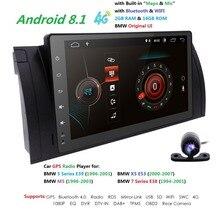 1din Android 8.1 Auto Autoaudio PLAYER Per BMW E53 E39 X5 M5 ricevitore GPS RADIO multimediale di navigazione stereo SWC DVR RDS DAB + TPMS