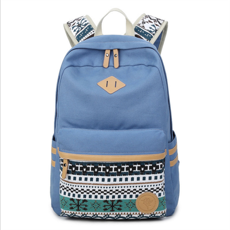 02b819cbc801 New Fashion Canvas Backpack Children School Bags USA flag tattoo backpack  Comfortable Backpacks for unisex Teenagers-in Backpacks from Luggage   Bags  on ...