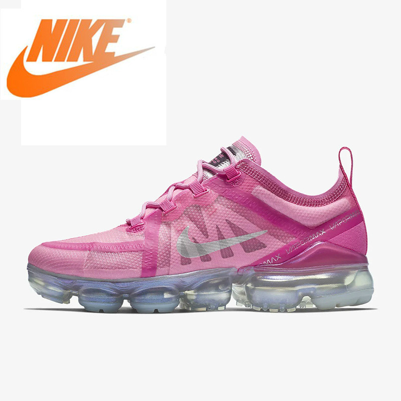 Original Authentic Nike Air VaporMax 2019 Womens Running Shoes Outdoor Sneakers Athletic Designer Footwear Arrival AR6632-600Original Authentic Nike Air VaporMax 2019 Womens Running Shoes Outdoor Sneakers Athletic Designer Footwear Arrival AR6632-600