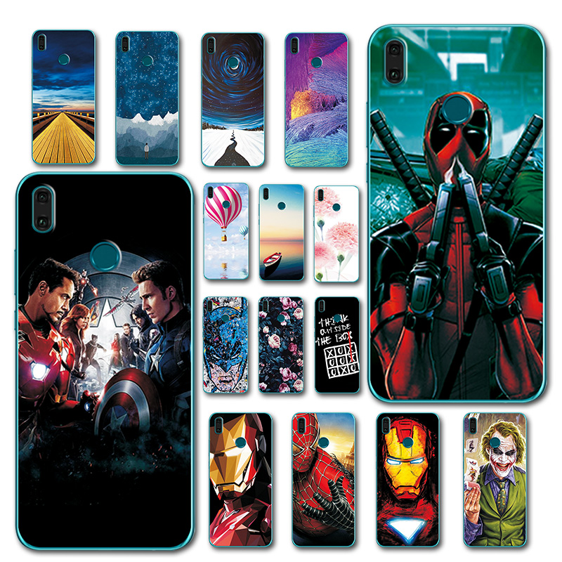 Novelty Phone Case For Huawei Y9 2019 Newest Soft Silicon Tpu Fashion Printed For Y9 2019 6 5 Case Cover For Huawei Y9 2019 A473 Huawei y5 2019 сапфировый синий; google sites