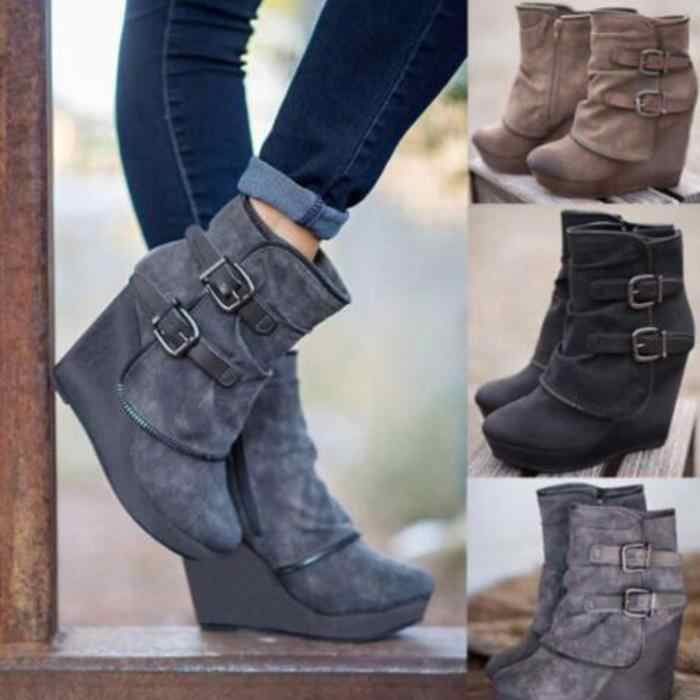 cb38b84ca3b Detail Feedback Questions about sapato feminino ankle boots woman ...