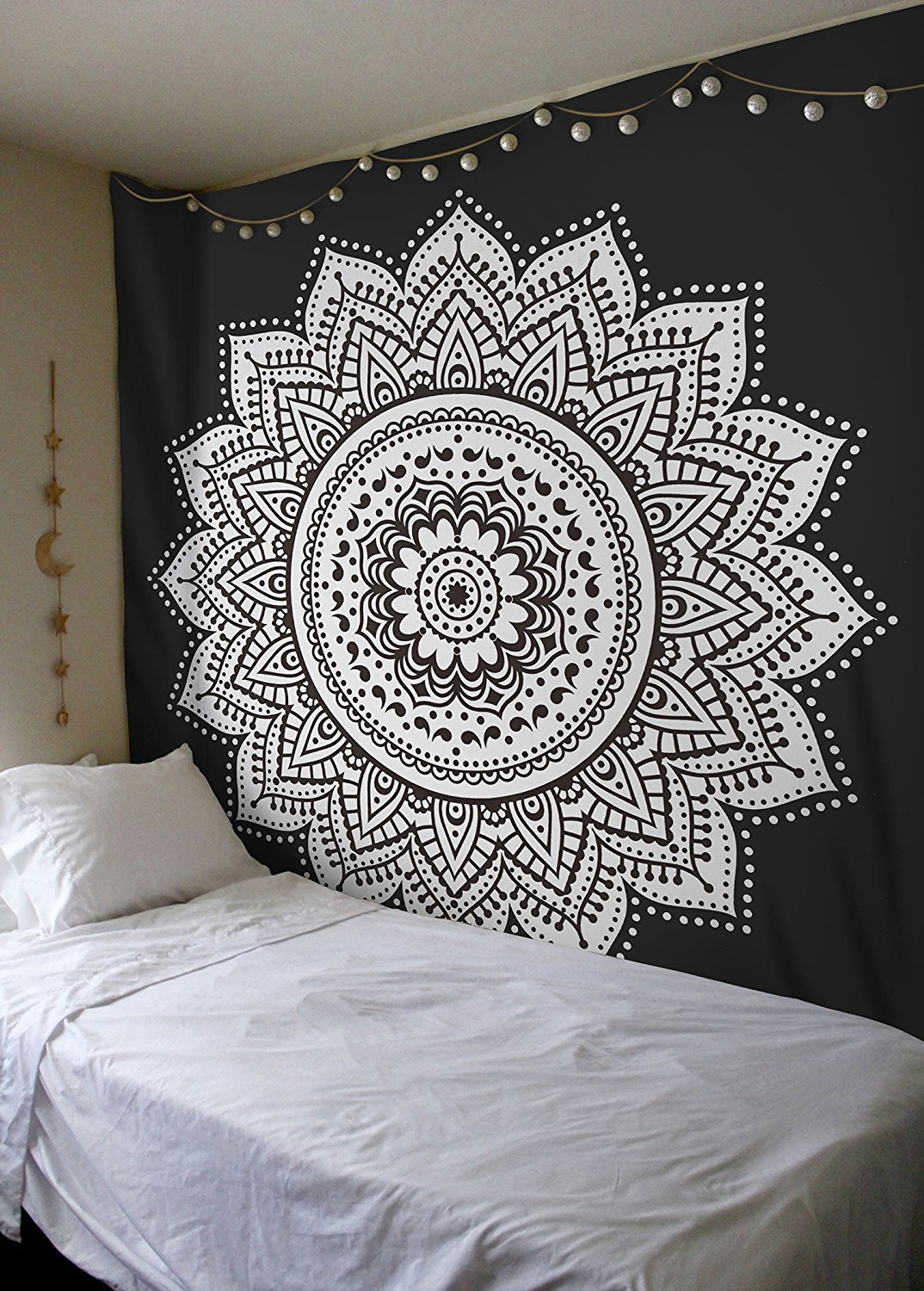 Oriental Mandala Bedspread Decorative Cloth Various Colours Wall Hanging