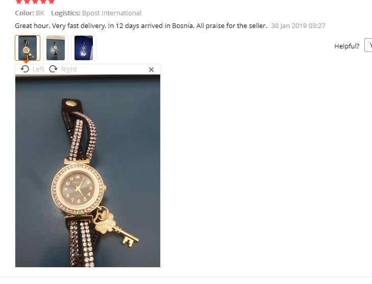 2018 Venta caliente regalos especiales relojes de mujer moda de lujo envolver alrededor de candado diamante pulsera señora mujer muñeca al por mayor 75