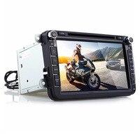 8 Inch New LCD Screen Car DVD Player 1080P Full HD Digital Built In Bluetooth Hand