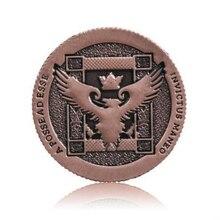 Ellusionist Artifact Coin Rev 2 Half Dollar Size Copper color Magic Tricks magic props