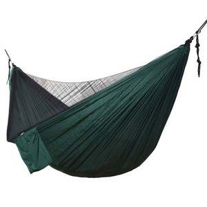Image 2 - 1 Set Of Netting Hammock+Canopy Tent For Outdoor Camping Portable Mosquito Free Rain Fly Tarp Parachute Swing Bed Waterproof