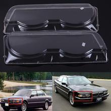 1 шт. ясно вправо/оставили автомобиль Корпус фар объектив оболочки крышка лампы для сборки BMW 7 серии E38 Facelift 1998-2001