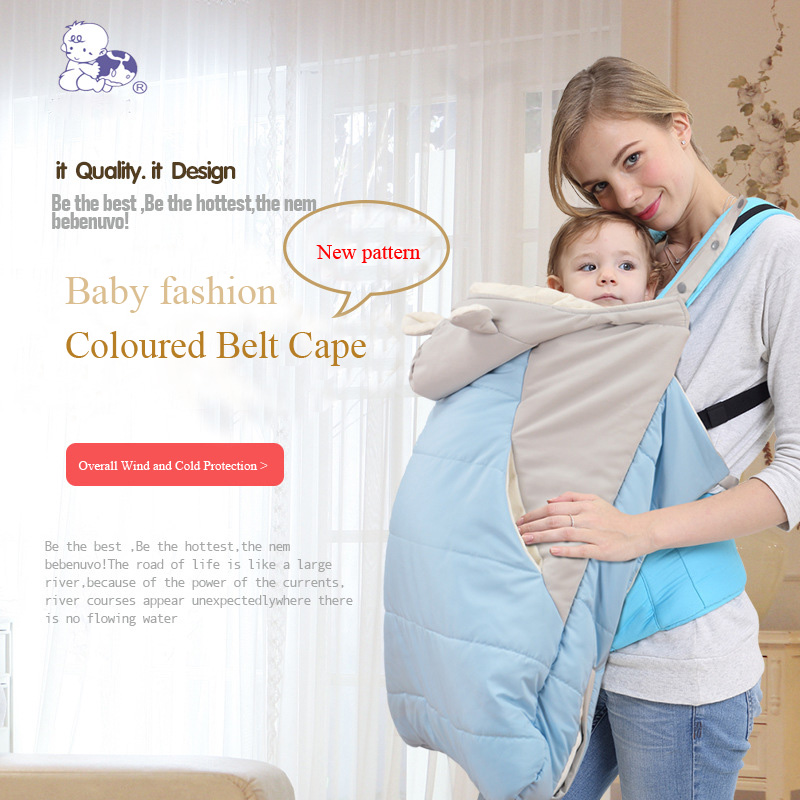 Hiver bébé sac de couchage enfants sommeil sac coupe-vent manteau nouveau-nés emmailloter bébé couverture à l'extérieur poussette hiver manteau couette