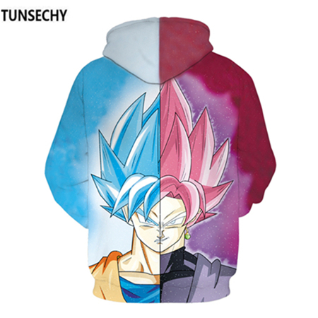 TUNSECHY Brand Dragon Ball 3D Hoodie Sweatshirts Men Women Hoodie Dragon Ball Z Anime Fashion Casual Tracksuits Boy Hooded 21