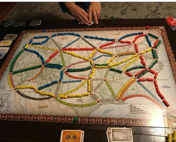 Days of Wonder Ticket to Ride Board game Party Table Games card games adults - DISCOUNT ITEM  28% OFF All Category