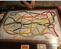 Gün Wonder Binmek için Bilet Kurulu oyunu Parti Masa Oyunları kart oyunları yetişkinler için