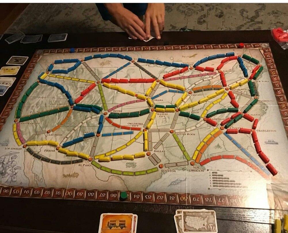 Ngày Wonder Vé Đi Xe Board Game Bàn Tiệc Trò Chơi Thẻ Trò Chơi Người Lớn