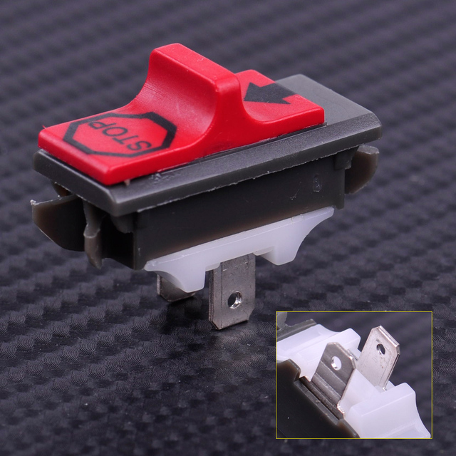 LETAOSK New Kill Stop Switch On off Fit for Husqvarna 365 371 372 372XP 336 Chainsaw