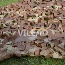 VILEAD 1.5M*2M Desert Digital Camo Netting Military Camo Netting Army Camouflage Jungle Net Shelter Hunting Camping Sports Tent