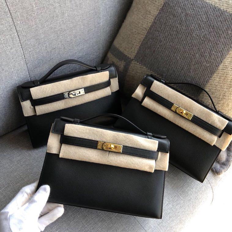 La più alta qualità delle signore di moda di lusso borse di qualità classico 100% in pelle di marca famosa signore fatto a mano libera la nave-in Borse con manici da Valigie e borse su  Gruppo 1