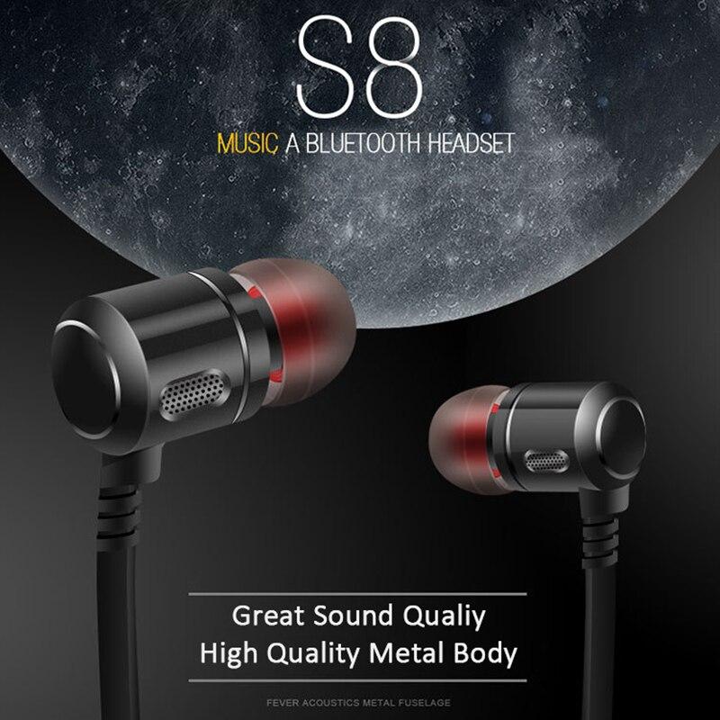 Ubit S8 Spor Kulak Kablosuz Kulaklık Anti-ter Metal Kulaklık - Taşınabilir Ses ve Görüntü - Fotoğraf 6