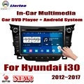 Car DVD Player For Hyundai i30 (GD) 2012~2017 IPS LCD Screen GPS Navigation Android System Radio Audio Video Stereo