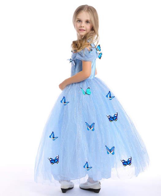 419ef5f14 Online Shop DO DOWER Cinderella Tutu Maxi Dress Butterfly Kid ...