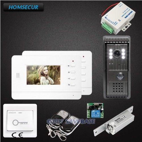 HOMSECUR 1V2 Kit 4.3