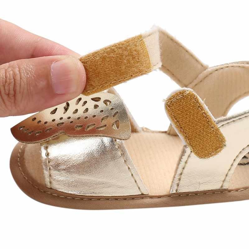 เด็กทารกเด็กรองเท้าเด็กรองเท้าผ้าใบ Non - Slip ผีเสื้อรองเท้าเด็กวัยหัดเดิน Bebes Zapatos Ninas เด็กแรกเกิด Infantil