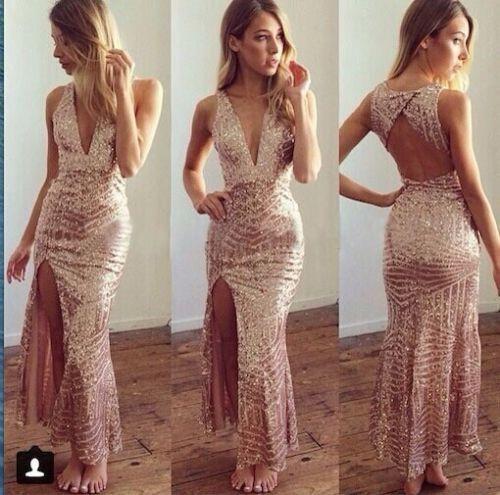 Size S Mura Boutique Dress Gold Sequin Evening Dress Rrp 99