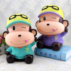 DIY большая копилка студия Ghibli Miyazaki ПВХ Виниловая фигурка подарок на день рождения обезьяна игрушки мультфильм обезьяна копилка