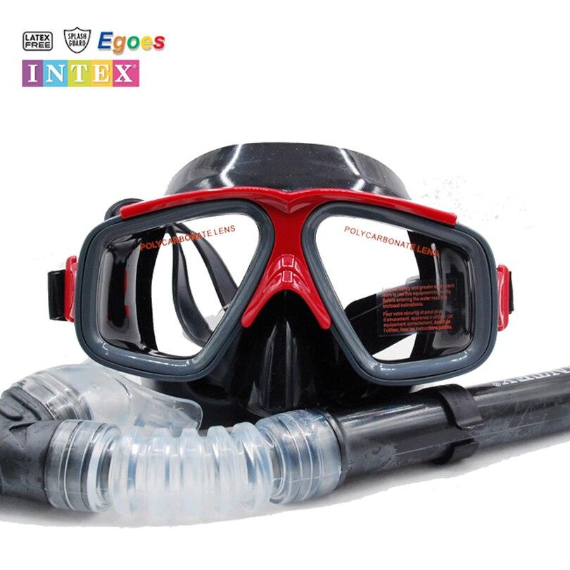 Intex Recife Piloto Adulto Natação Mergulho Máscara   Snorkel Set  55949 55948 5541e42d04
