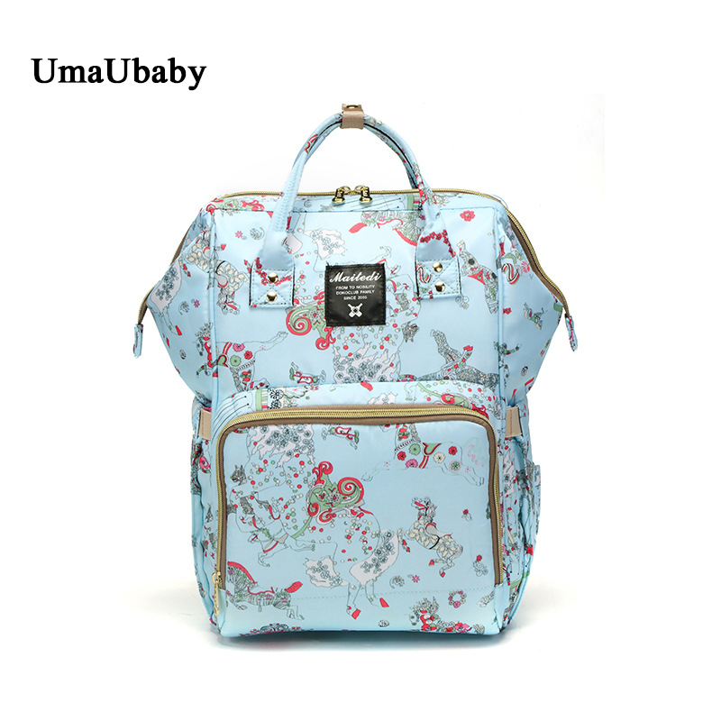 Mommy Diaper Bags backpack baby bag for mom panaleras 35L Oxford print waterproof travel backpack Multi-function Insulation bagsMommy Diaper Bags backpack baby bag for mom panaleras 35L Oxford print waterproof travel backpack Multi-function Insulation bags