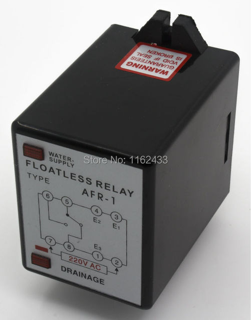 afr-1 ac 220v floatless level relay / switch 220vac