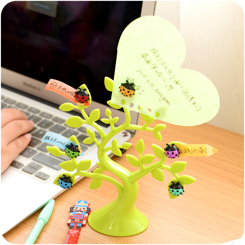 Creative Cute Multifuntional Desktop Magnetic Memo Pad Photo Holder Note Holder  Decor Office Supplies articulos de oficina carton cute kawaii animal computer screen message board with scale for memo pad acrylic sticky note board office supplies