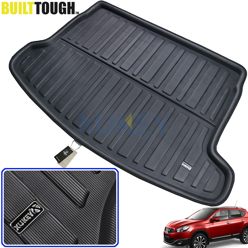 Accessories BOOT LINER CARGO MAT FIT FOR NISSAN DUALIS QASHQAI J10 2007 2008 2009 2010 2011 2012 2013 REAR TRUNK TRAY COVER