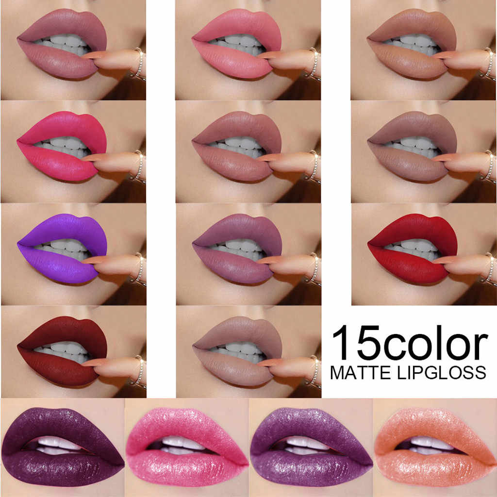 New Womens Beauty Lipsticks Matte Llipstick Lasting Velvet Lip Tint Stain Lips Makeup Birthday Edition Collection LipglossF6.18