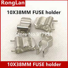 [ZOB] The United States Bussmann BUSS PCB fuseholders 10X38 10.3X38MM fuse holder  --200PCS/LOT