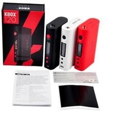 D'origine Kanger KBOX 120 W BOÎTE MOD e cigarette Temp Contrôle Kbox 200 w/Kangertech Kbox 160 w livraison gratuite Wismec Reuleaux RX2/3