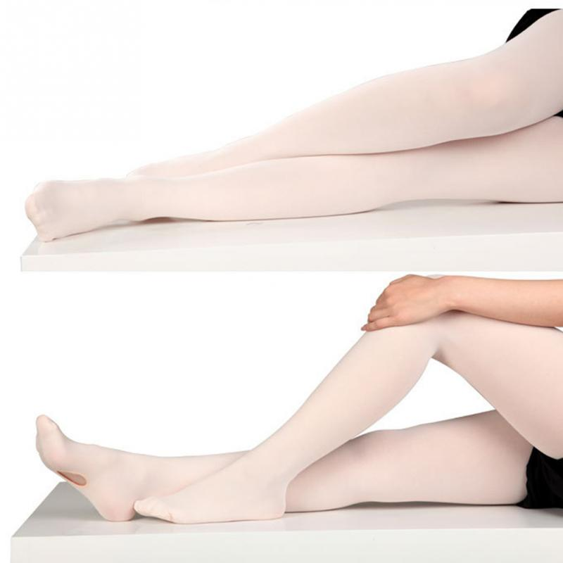 Microfiber Convertible Footed Socks Dance Stocking Ballet Pantyhose Tights Pant