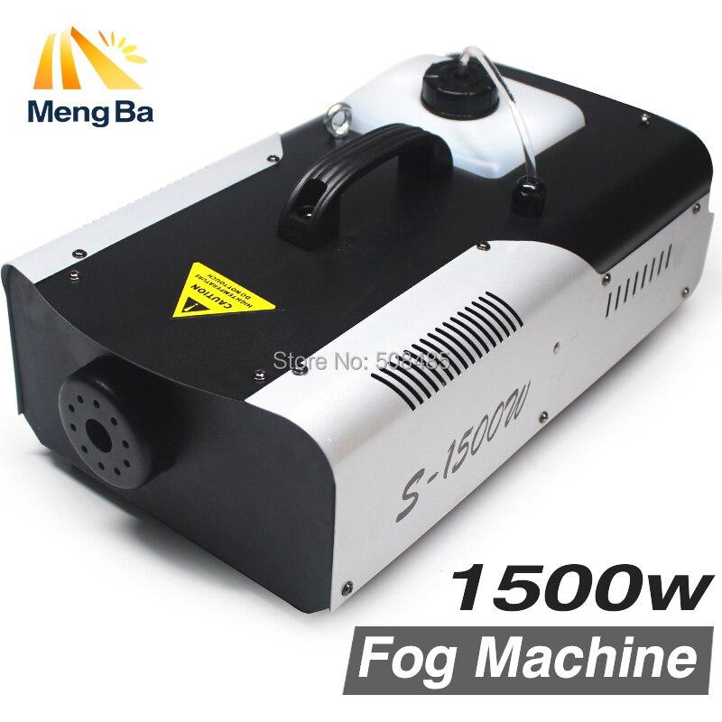 1500 W máquina de niebla/humo/profesional 1500 W Fogger para el Partido casero de la boda etapa dj con envío libre y rápido