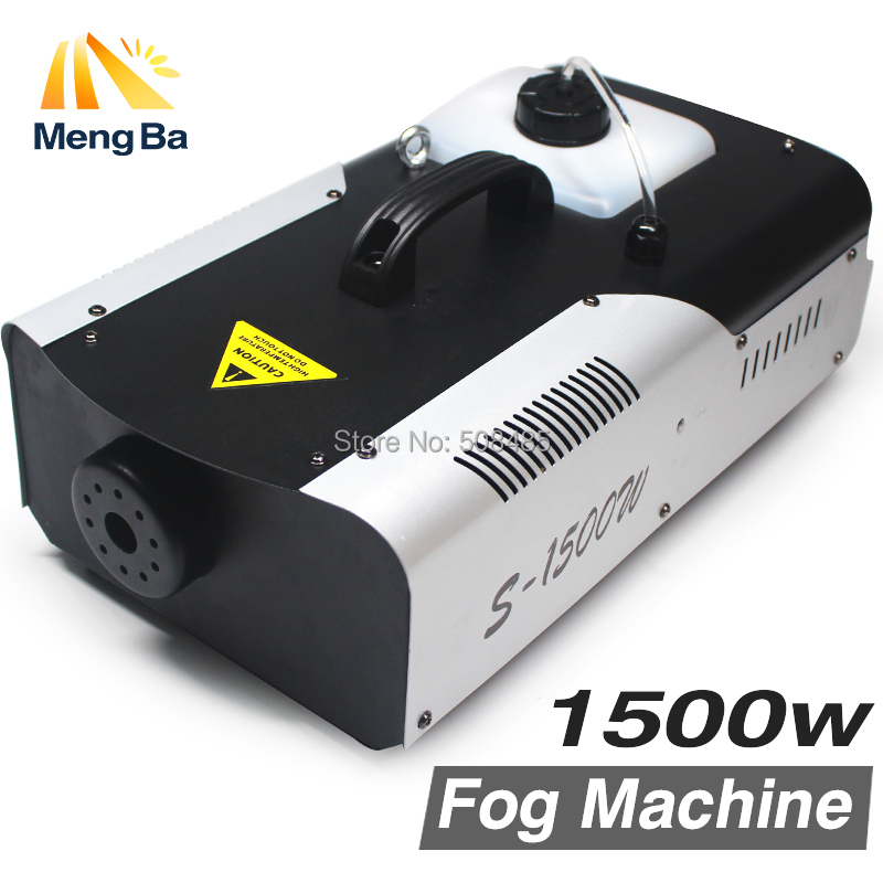 1500W Fog Machine /Smoke Machine/Professional 1500W Fogger For Wedding home party Stage dj Equipment with Free&Fast shipping 1pc 1500w led fog machine pyro vertical smoke machine professional fogger for stage effect equipment