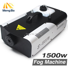 1500W Fog Machine /Smoke Machine/Professional 1500W Fogger For Wedding home party Stage dj Equipment with Free&Fast shipping(China)