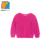 Ykyy yakuyiyi rose pink girls suéter de los bebés de la manga larga pullover tops suave peludo o-cuello suéter de los niños niñas ropa
